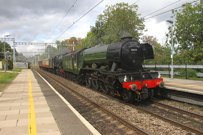 "60103 ""Flying Scotsman"" Tilehurst 13/09/17 5Z72 Bishops Lydeard to Southall with 46100 ""Royal Scot"""