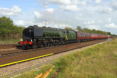 46233 Worting Junction 23/09/17 1Z47 Faversham to Salisbury