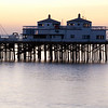 "<span id=""title"">Malibu Pier</span> One of the few piers in the area I've never been on, just before sunrise. I'll have to make it a point to come here another time."