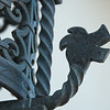 "<span id=""title"">Dragon</span> Easily-overlooked detail on a lamp at the Adamson House. With the tiles and the fancy metal work there are just so many things to see."
