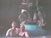Mike and Chris at the swim up bar grotto
