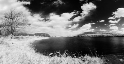 Cowanesque Lake, PA ~ Full Spectrum Infrared Photography