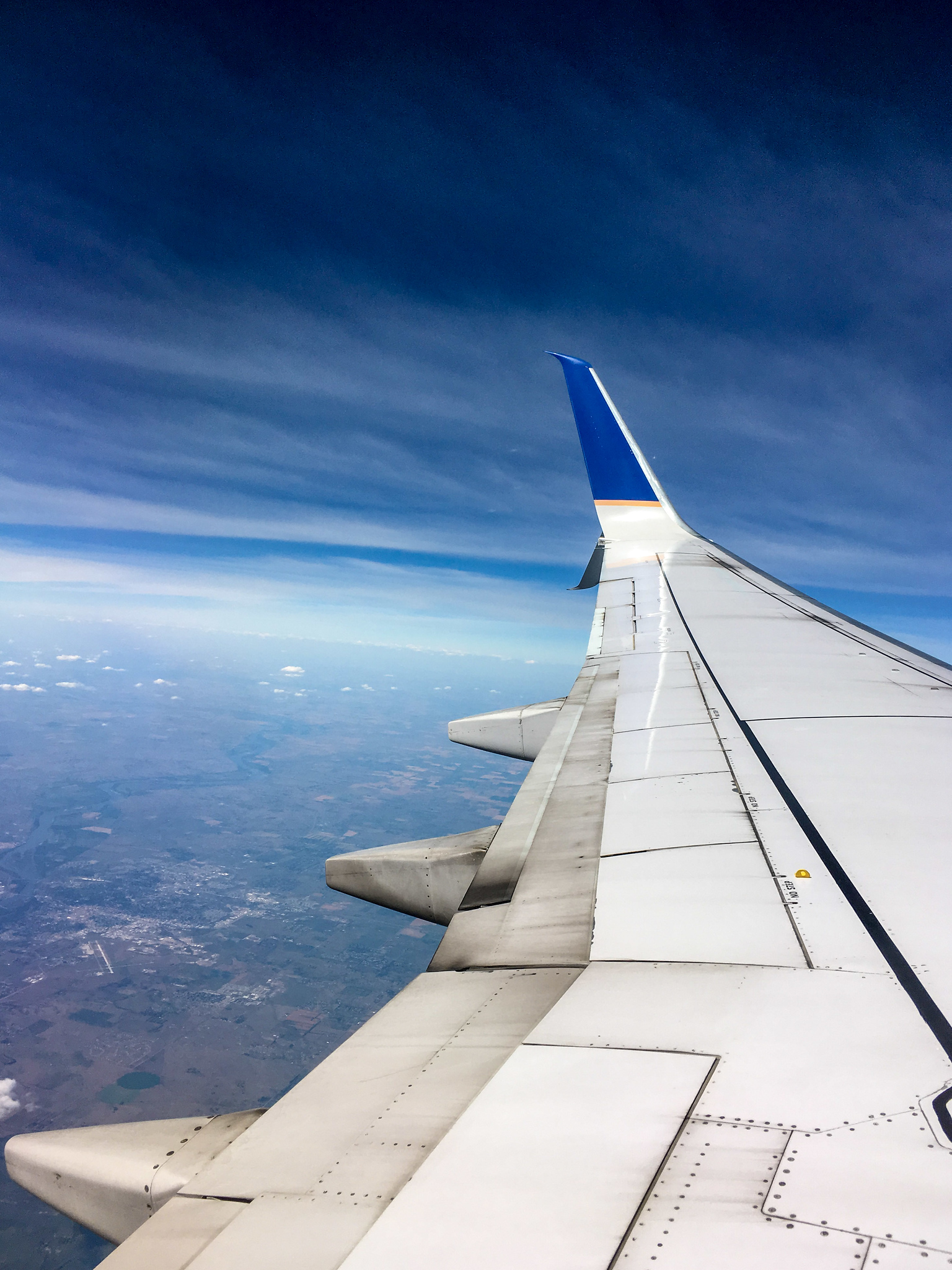 getting over my fear of flying will be a challenge