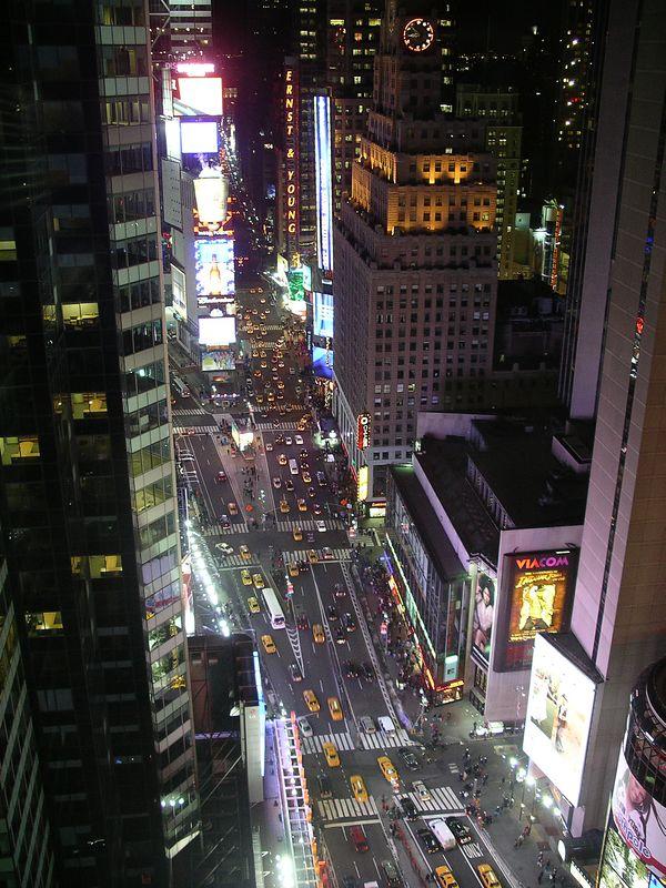 Times Square Christmas 2003