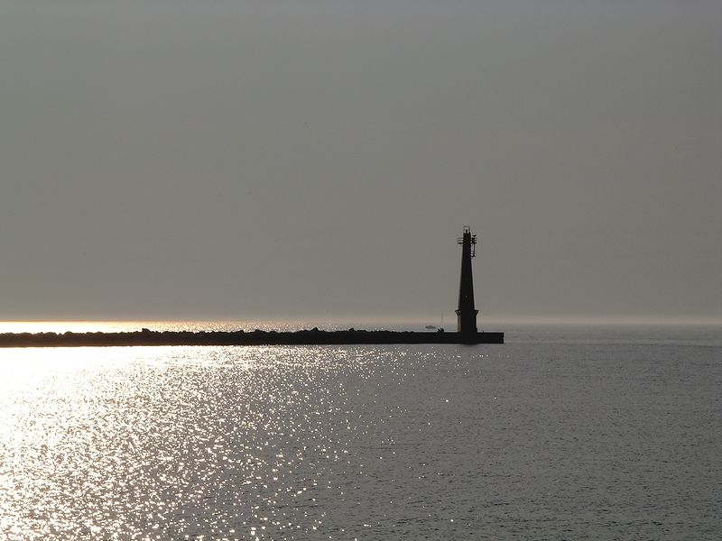 Lake Michigan Sunset; Muskegon, Mi 2003