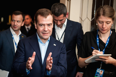 APEC 2011, Russian Pres. Medvedev