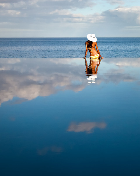 """"""" End of Summer """"  ....   Infinity Pool, Model: Taylor"""