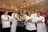 Chef Alan Wong far left, Dean Okimoto (Nalo Farms) far right , LCC Culinary Faculty:  Tommy Lynn Benavente, Linda Yamada, Loretta Monroy, Ian Risely, Mike Scully, Dave Miller, Don Maruyama