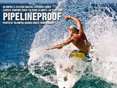 """This is image used in Olympus 2008 """"Proof"""" Promotional AD"""