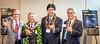 """Michael Fasulo<br /> President & COO Sony USA, Sony Hawaii's Outgoing President<br /> Naobumi """"Ned"""" Nomura, Shusuke Oshima Sony Hawaii President, Karl Okemura SVP Sony Hawaii"""