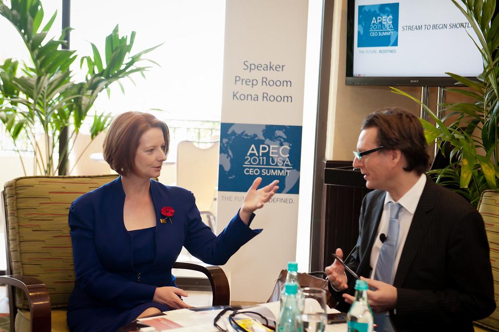 APEC 2011, Julia Gillard Prime Minister of Australia