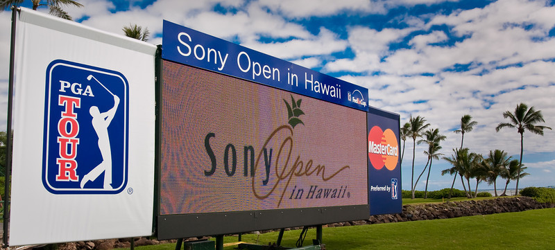 Sony Open   ...  shoot for the Sony Open Magazine & it's side Events during the open and thruout the year.