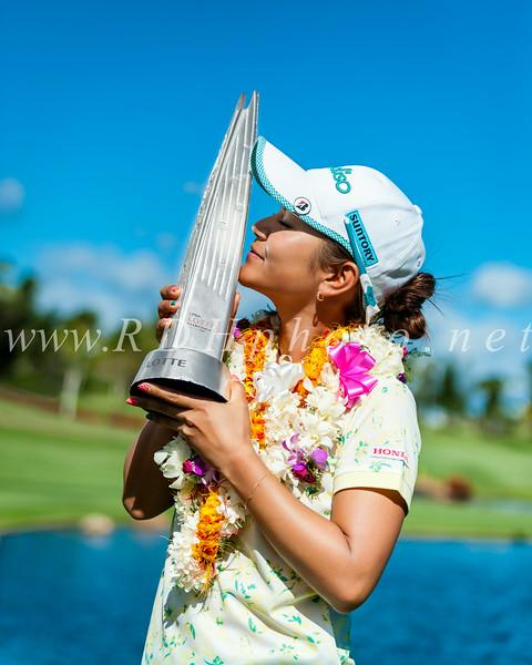 Ai Miyazato  2012 LPGA LOTTE Champion at Ko Olina       ....   Photographer: Ross Hamamura