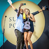 Alana Blanchard , in the back Freddy Patacchia Surfer Poll Awards