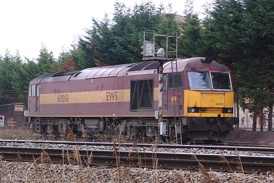 60018 Theale 29/11/08