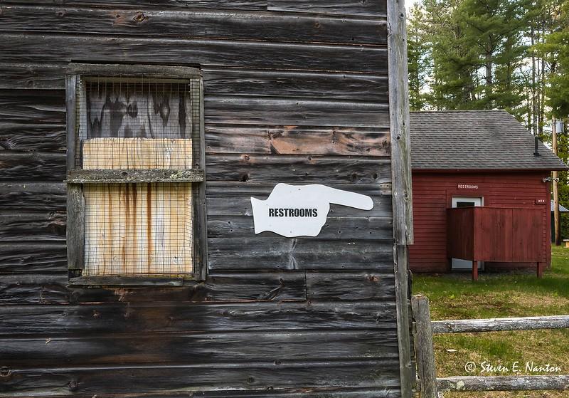 Fairgrounds bathrooms, Charlemont, MA