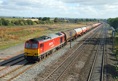 60007 Didcot East Junction 29/09/12 6B33 Theale to Margam