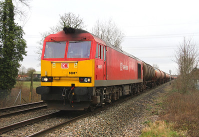 60017 Theale 05/01/13 6B33 Theale to Margam