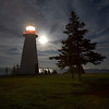 Nova Scotia Lighthouse. July 2006.