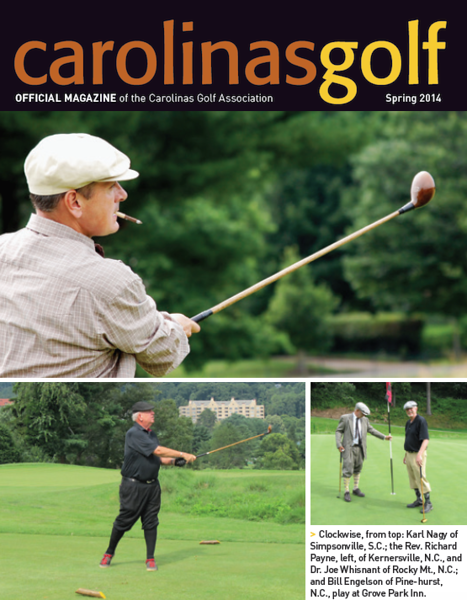 Carolinas Golf Magazine Spring 2014