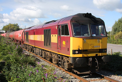 60010 Theale 25/09/10