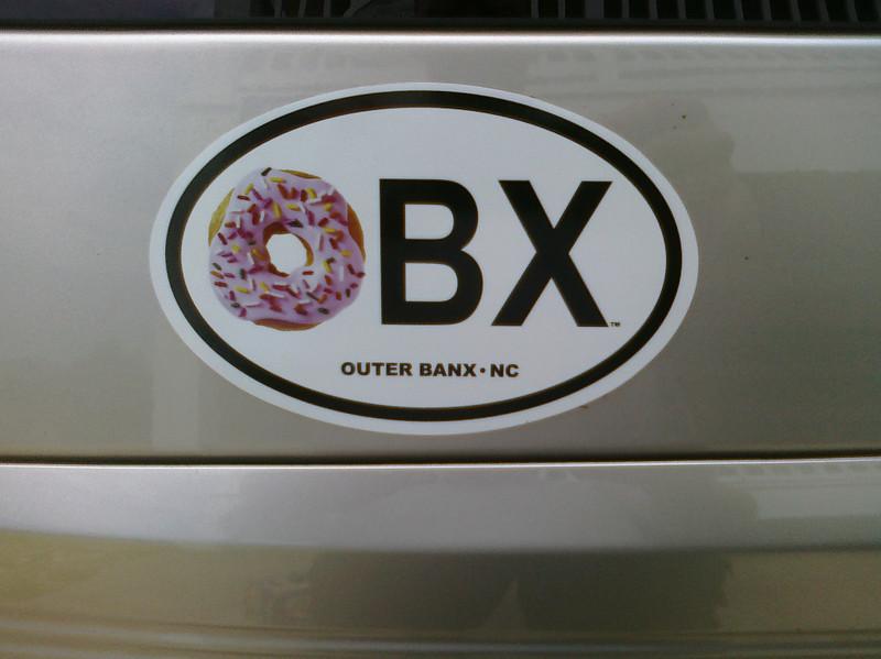 Lovin' some Dunkin' Donuts @ OBX... :-)
