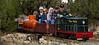 The railroad's diesel hydraulic locomotive.