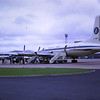 Britannia Airlines plane taking us t the Costa Brava 1968