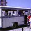 Catching the local bus (Costa Brava 1968)