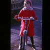 Sandra on her new (presumably) bike (1962)
