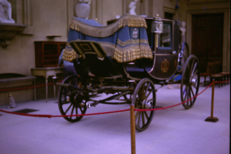Carriage at Chatsworth House, 1963