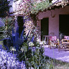 Patio at the villa