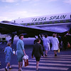 Off to Spain again (looking extremely smart!) - 1964