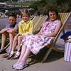 Relaxing on Towan Beach Newquay (1963) - lovely!