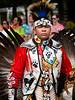 """A Day of Celebration!  Lenapowsi: Nanticoke-Lenape Music, Dance, Craft.""   Wheaton Village, NJ.  20 Sep 2014."