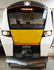 A 2014 mock up of the new Class 700 units to be built by Siemens for Thameslink services. <br /> © Photo copyright Siemens UK.