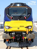 A new face for 2014. DRS 68002 at the Vossloh factory in Valencia, Spain.<br /> © Photo copyright Direct Rail Services Ltd (DRS).