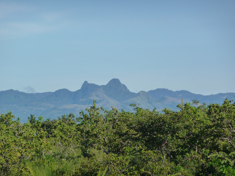 View of the mountains from the property