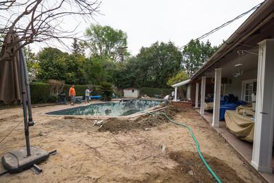 Pool Remodel, 2014