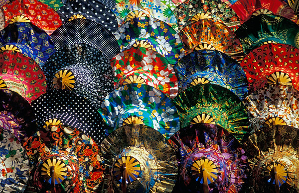 Colourful Umbrellas, Thailand