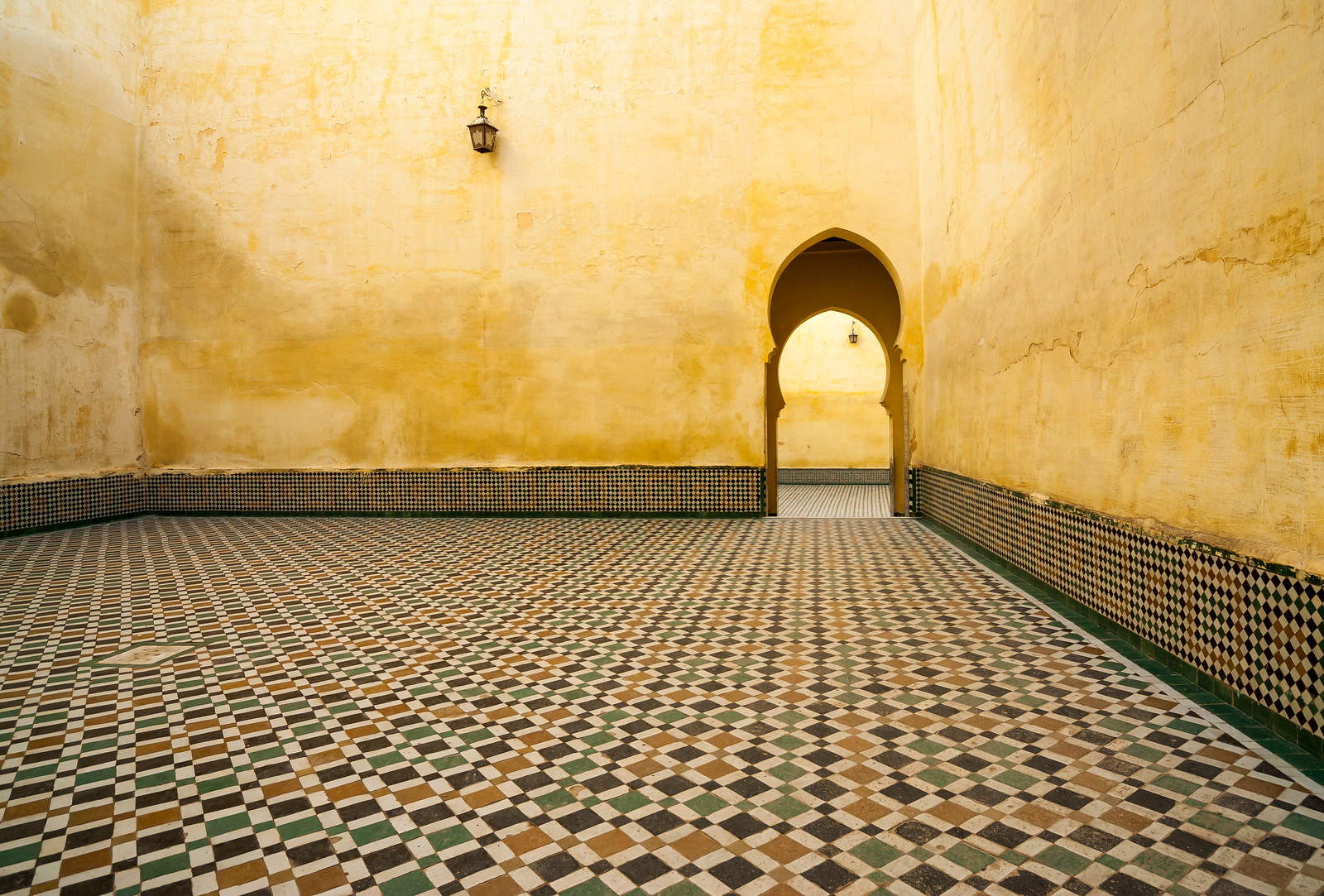 Mausoleum of Moulay Ismail, Meknes