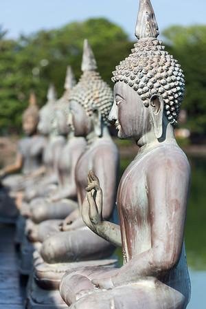 Buddha Statues, Seema Malakaya