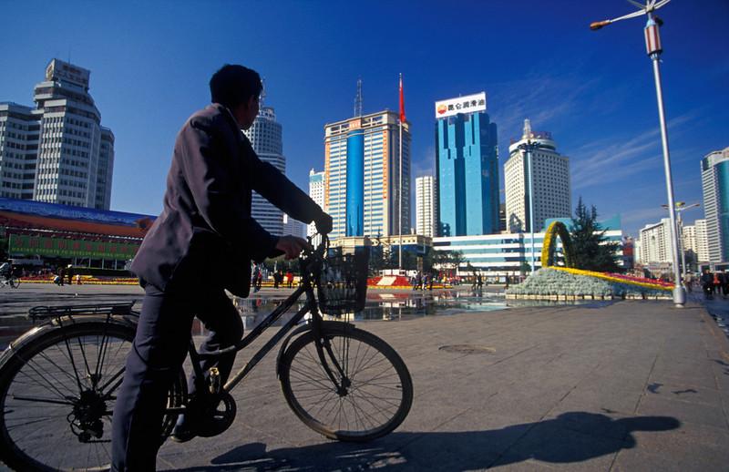Downtown Kunming, China