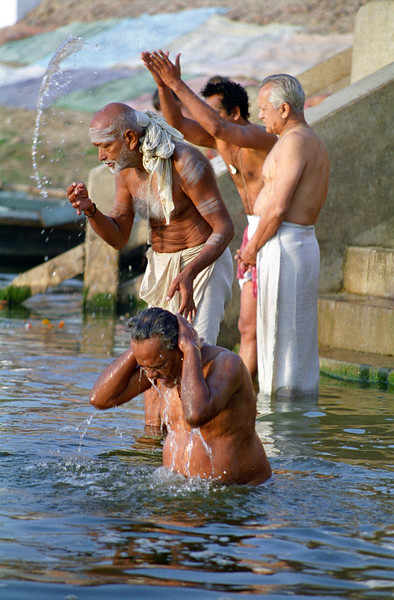 Ritual Bath in River Ganges