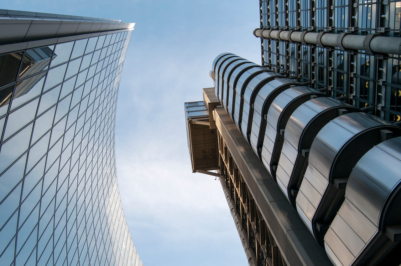 Willis and Lloyd's Buildings, City of London