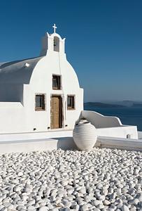 White Chapel, Oia, Santorini