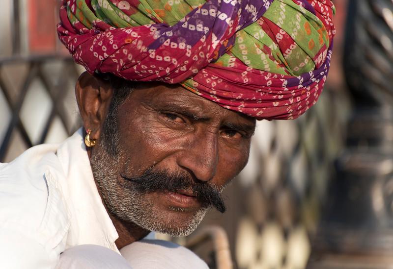 Portrait of Rajasthani Man