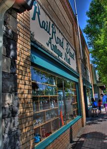 Rail Road Street Antique Mall -- Oldtown, Sherwood, Oregon