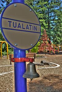 """Next Stop....Tualatin!"" -- Community Park, Tualatin Oregon"