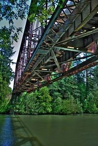 Train Bridge -- Tualatin, Oregon